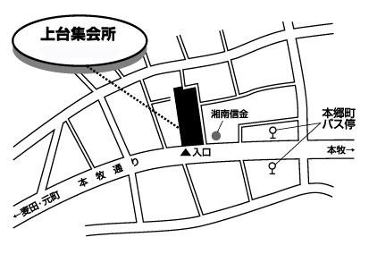 地図のイラストです
